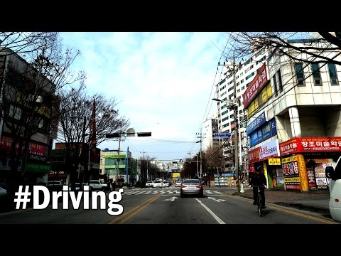 Driving Small Town of South Korea : Roam around Iksan city (익산시)