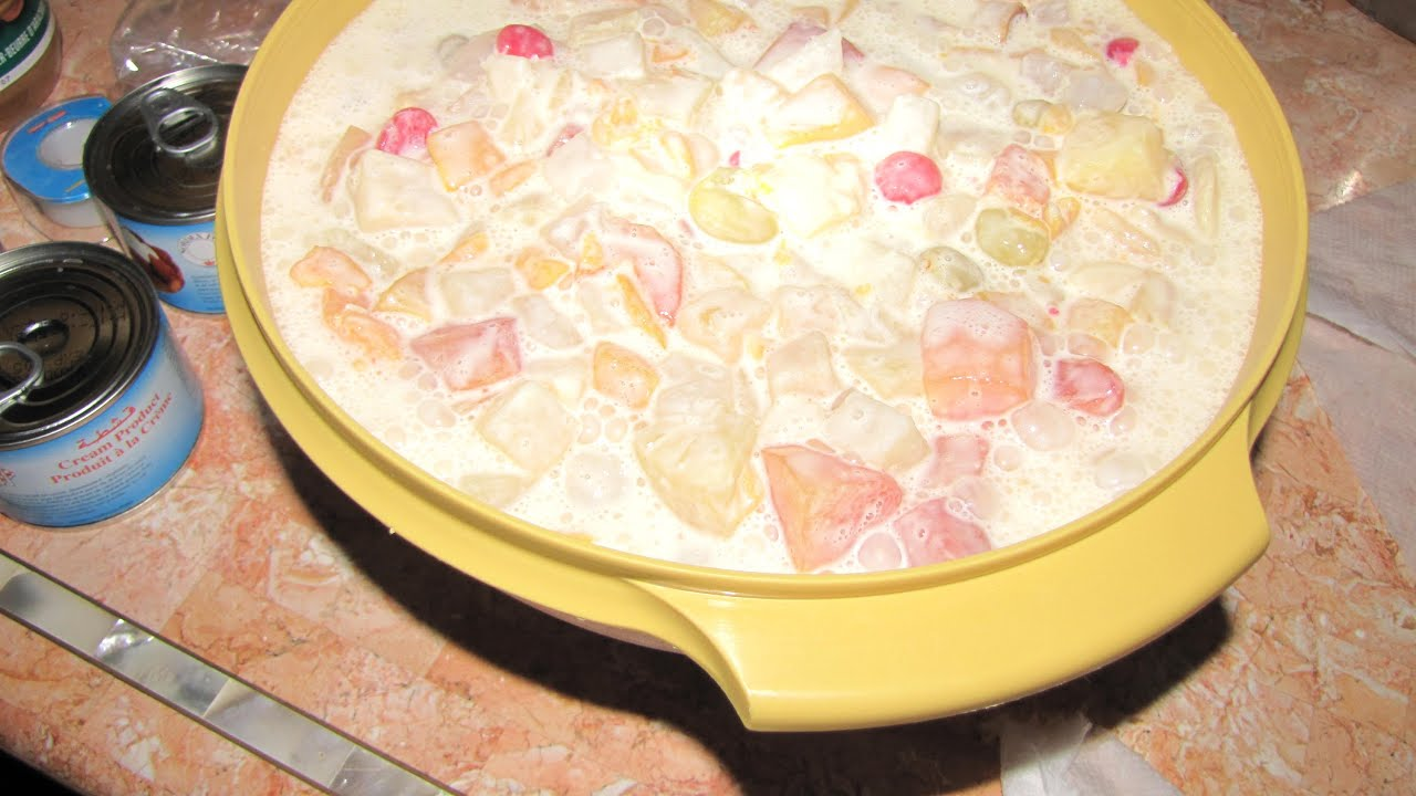 fruit salad filipino fruit cobbler