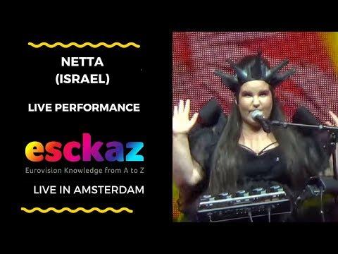 ESCKAZ in Amsterdam: Netta Barzilai (Israel) - Toy