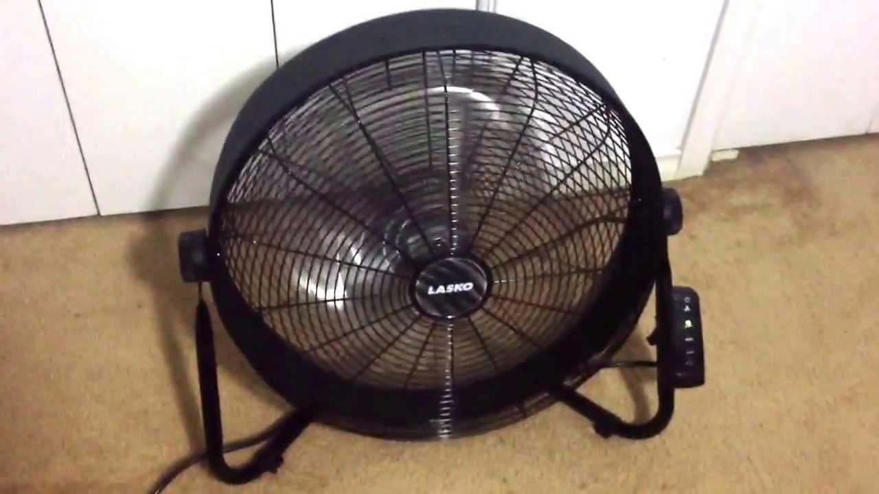 Lasko Inch Three Bladed High Velocity Fan Model Youtube