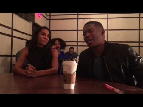 The Cast Of NBC's 'Taken' Brooklyn Sudano & Gaius Charles Offer Their Super Bowl 51 Prediciton