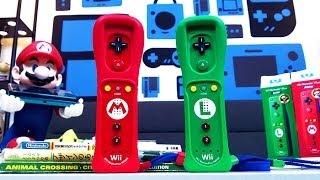 Unboxing - AMAZING Mario & Luigi Wii Remote Plus Controllers