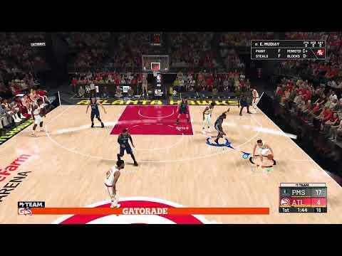 NBA 2k20 MyTeam Domination Amethyst Dwayne Wade Grind Rebounds Assists Dunks NO MONEY SPENT EVER!!