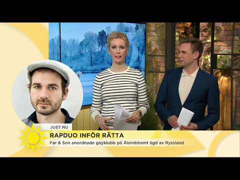 """Rapduo ställs inför rätta efter gayfest: """"Det är såna smällar man får ta"""" - Nyhetsmorgon ("""