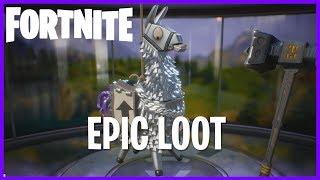 30 Loot Llama Pinata Smashing! #Fortnite