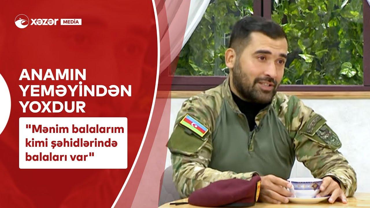 """""""Mənim Balalarım Kimi Şəhidlərində Balaları Var"""""""