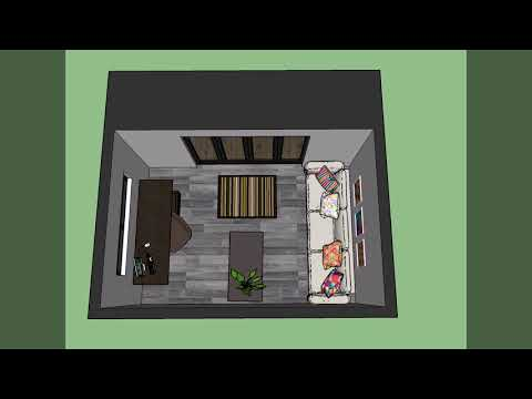 5m x 3m Canopy Room Design