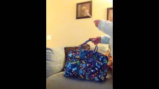 Vera Bradley - Travel Bag Comparison (Lg. Duffel, Weekender, & Grand Traveler)