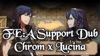 Fire Emblem: Awakening Support Dubs: Chrom and Lucina