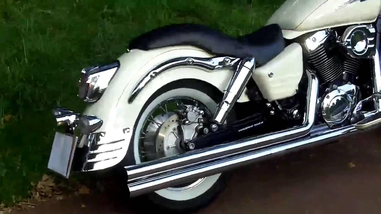 Honda Shadow Aero >> honda shadow vt 1100 c3 - YouTube