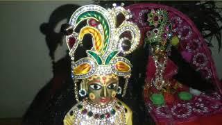 Devshayani Ekadashi special Laddu Gopal Ji s Kishori Ji beautiful dhoti kurta , pink dress  Singar