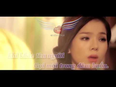[karaoke] Để Nhớ Một Thời Ta Đã Yêu (Remix) - Lệ Quyên [Demo].