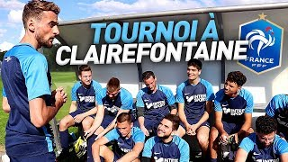 LE VINSKY FC JOUE À CLAIREFONTAINE (TOURNOI)