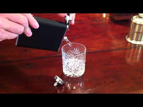 Hip Flask / Cigarette Case (6oz) Video