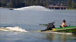 jet boat & v drive picklefork playing on fraser river