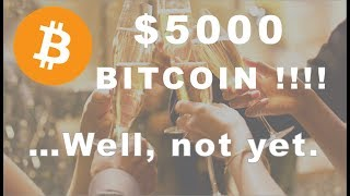 Bitcoin $5000!!!!....Almost but not yet.  Have Alts Bottomed?