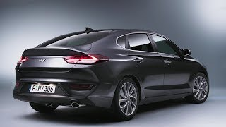 2018 Hyundai i30 Fastback interior Exterior смотреть