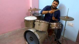 Drum Indian Music Learning Online Lessons for beginners to play Indian music tunes on Drum