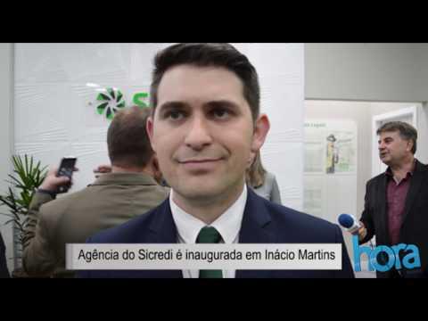 Agência no Sicredi é inaugurada em Inácio Martins