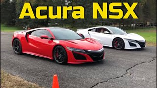Acura NSX drag race | Mclaren 720s and more