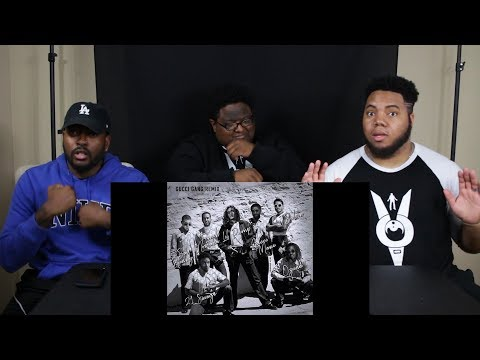 Lil Pump Gucci Gang Remix ft. Bad Bunny, Ozuna, J Balvin, 21 Savage, Gucci & French Montana REACTION