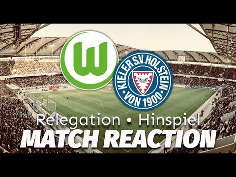 relegation wolfsburg kiel match reaction youtube. Black Bedroom Furniture Sets. Home Design Ideas