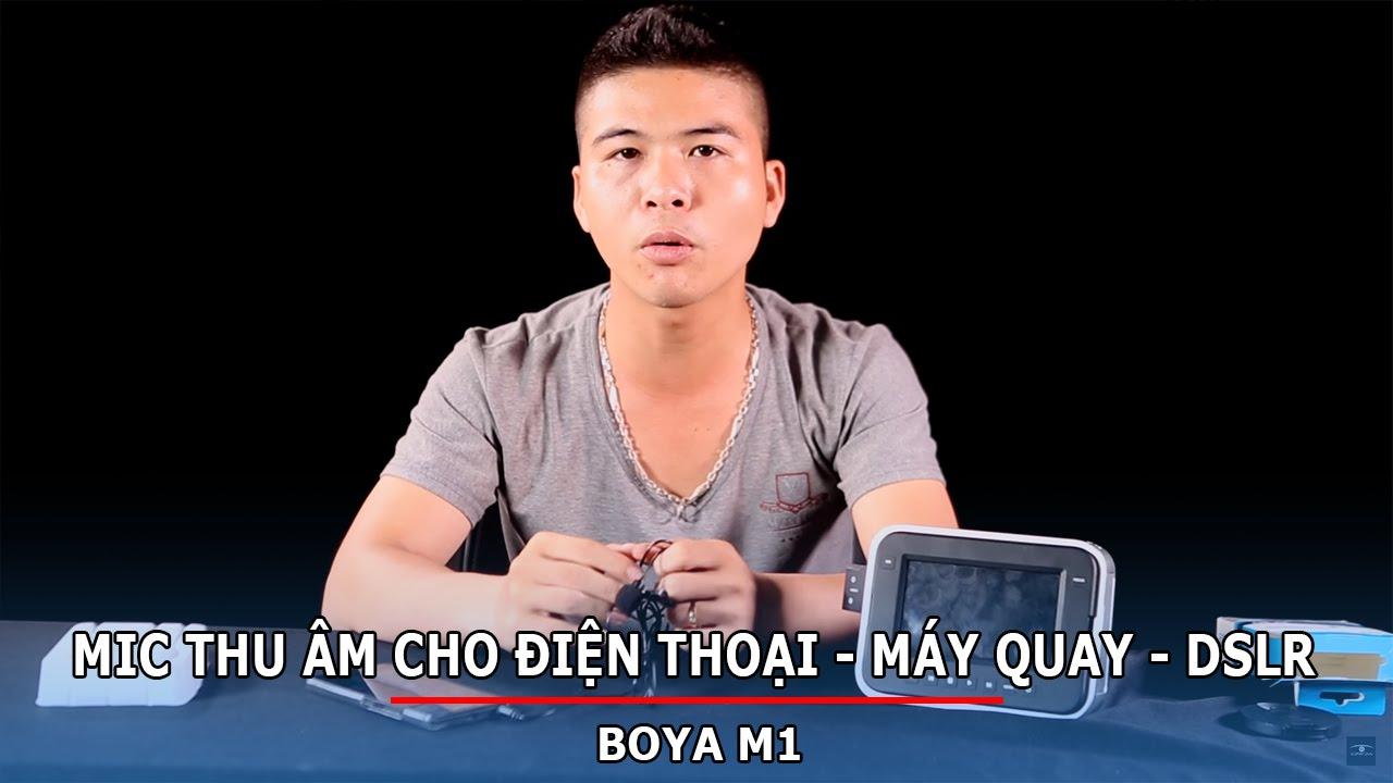 Mic Thu M Cho In Thoi V My Quay Cng 35mm 64mm Boya M1 Youtube Combo By Mm1 Dan