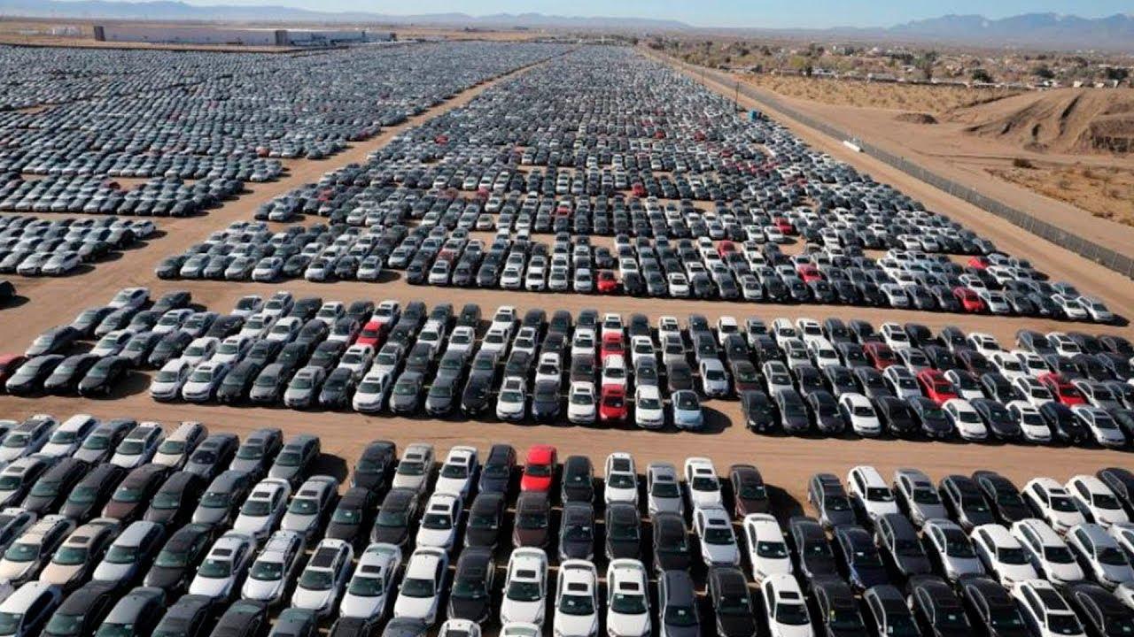 25 Млн Новых Авто Гниют под Открытым Небом! | автомобили новые
