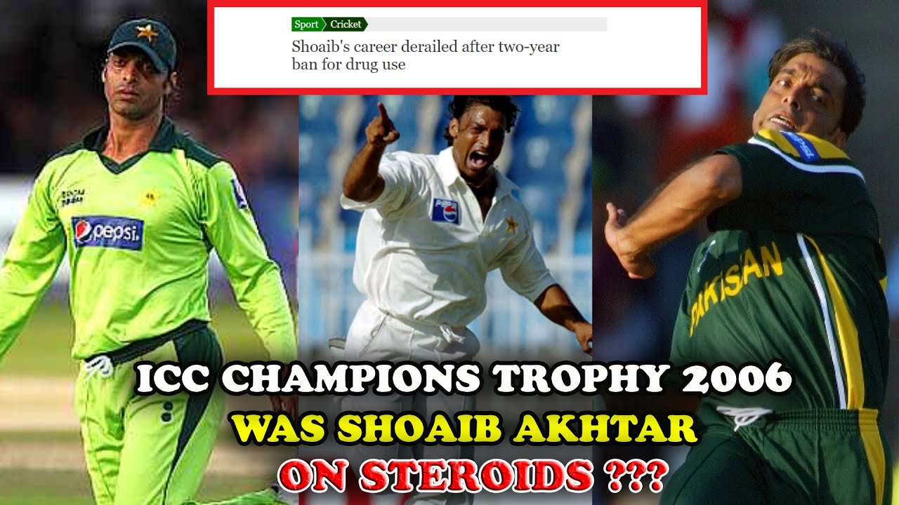 Download Did Shoaib Akhtar Abuse Steroids in 2006 ICC Champions Trophy ??