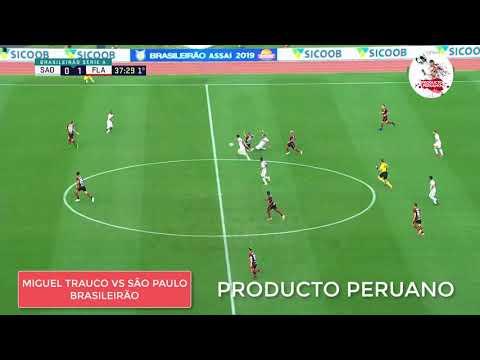 Miguel Trauco vs São Paulo