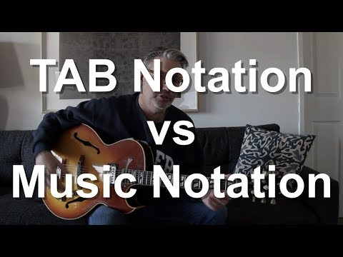 TAB Notation vs Music Notation | Tom Strahle | Easy Guitar | Basic Guitar