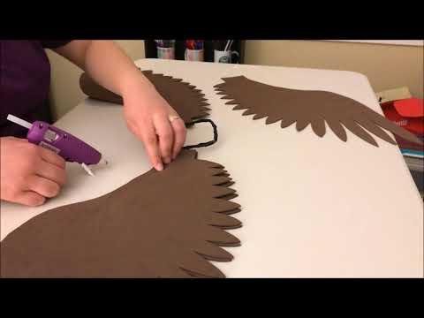 Making Simple Craft Foam Wings
