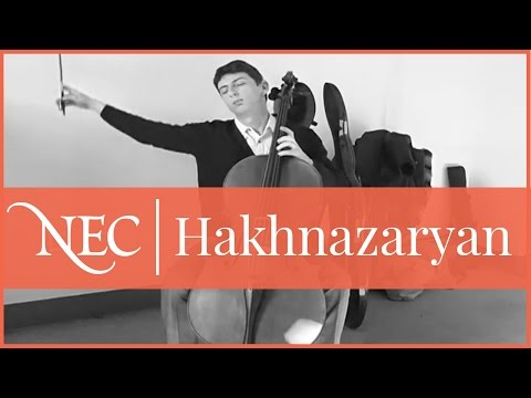 Narek Hakhnazaryan - Energizer Cellist