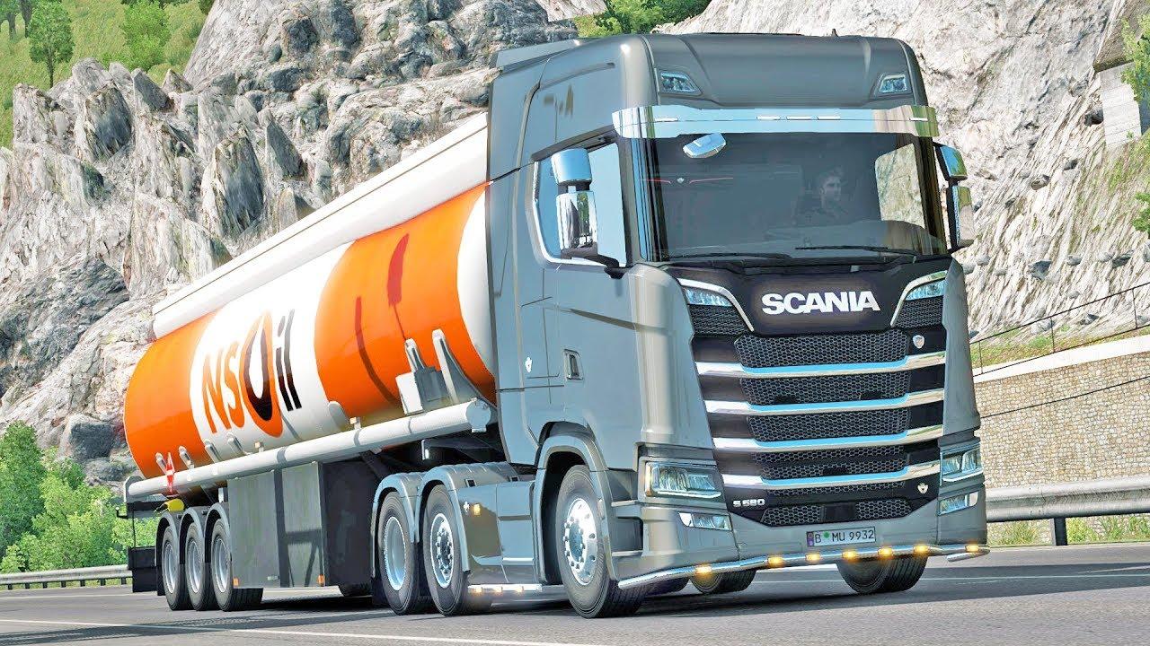 Road To The Black Sea Dlc Euro Truck Simulator 2 Youtube