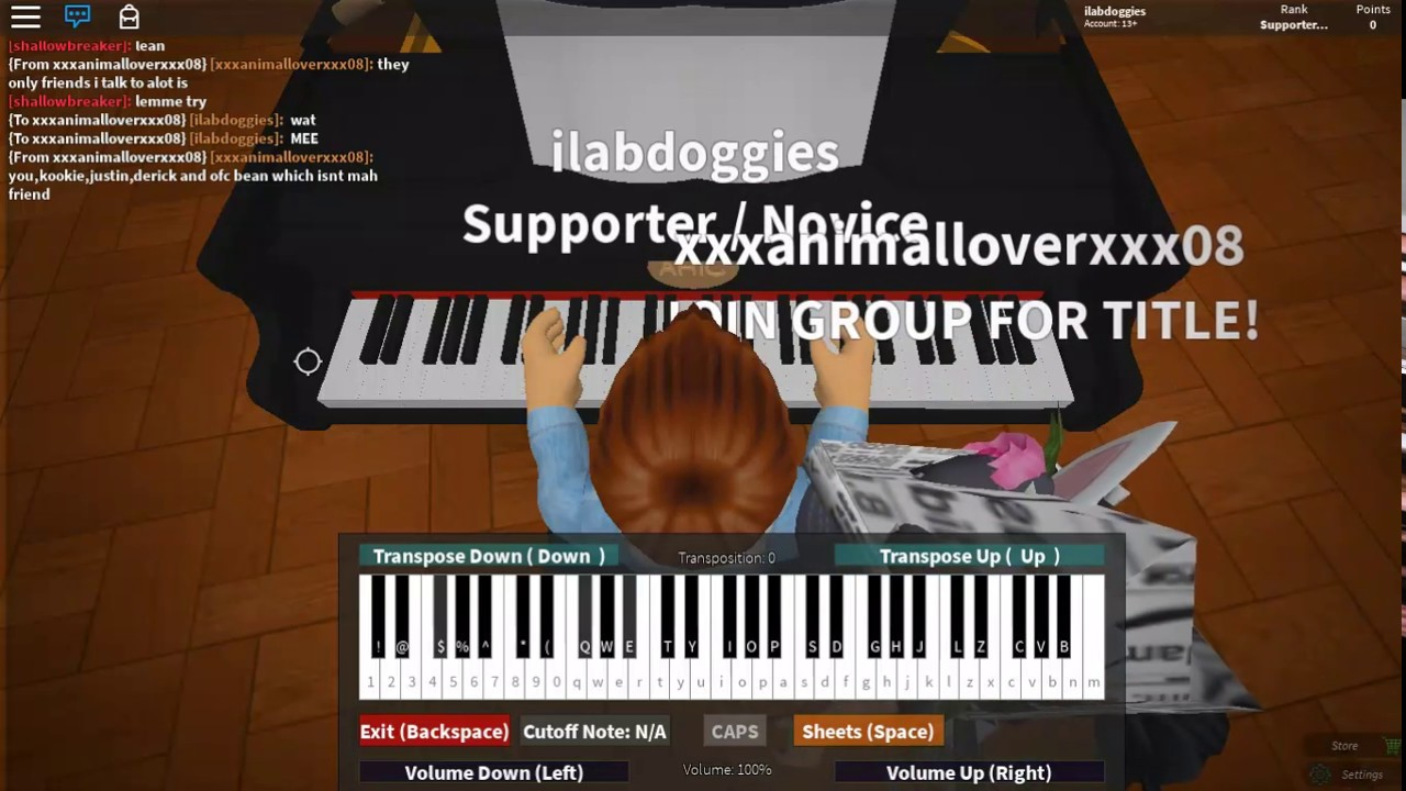 Erika Roblox Piano Sheet Lovely Billie Eilish Roblox Piano By L0nlc