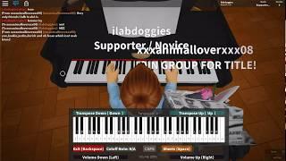 Roblox Piano | Halsey - Gasoline