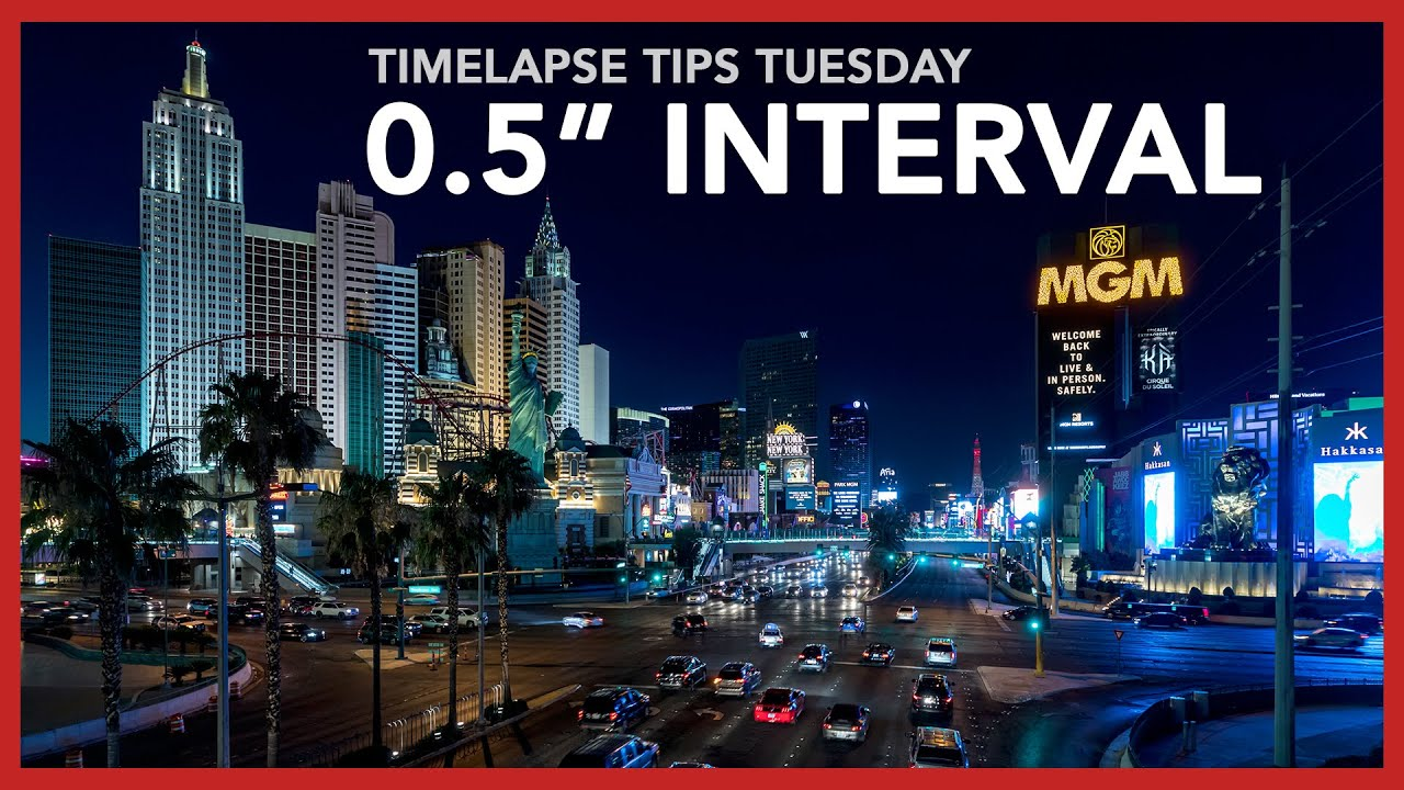 "How to shoot 0.5"" interval timelapses - Timelapse Tips Tuesday #3"