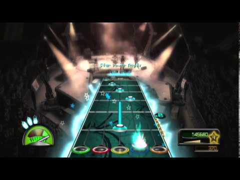 Guitar Hero Metallica: Ace Of Spades expert guitar