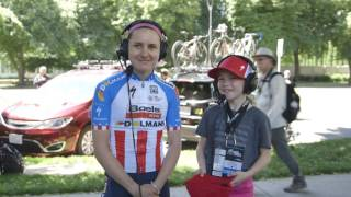 Race Reporter Ruby with Megan Guarnier