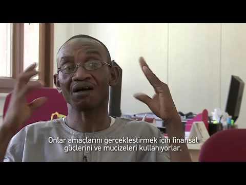Sierra Leoneli Musa Bangura İHH'yı ziyaret etti Mobile
