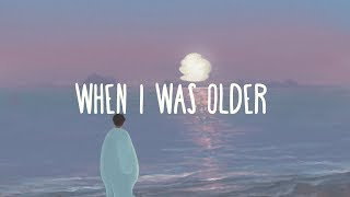 Billie Eilish ~ When I Was Older (Lyrics)