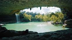 Hamilton Pool, Best Kept Secret of Texas, in Dripping Springs.