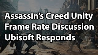 Ubisoft Responds to Low Frame Rates in Assassin