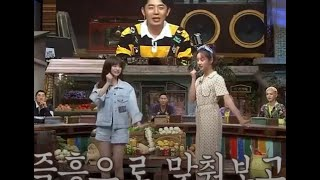 Girl's Day Hyeri and fromis_9 Lee Nagyung dancing Twinkle Tw…