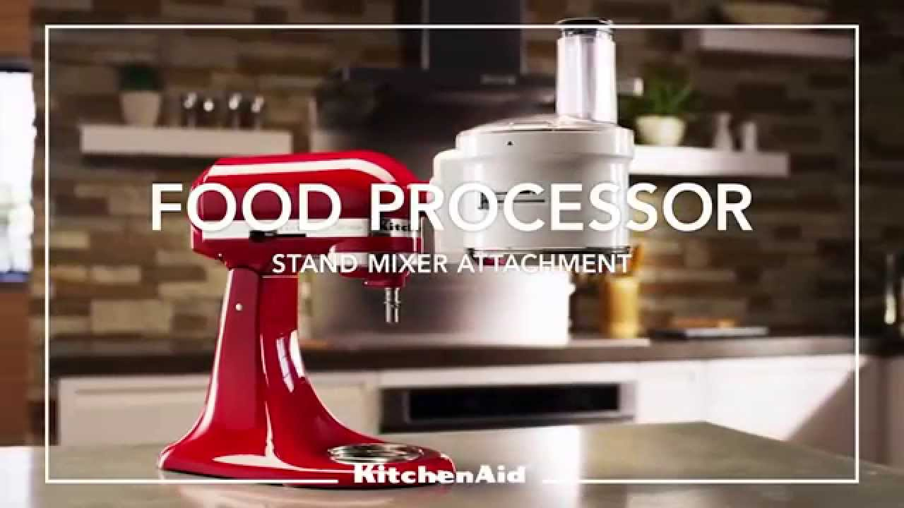 KitchenAid Foodprocessor Opzetstuk | Versloot Versloot.nl   YouTube