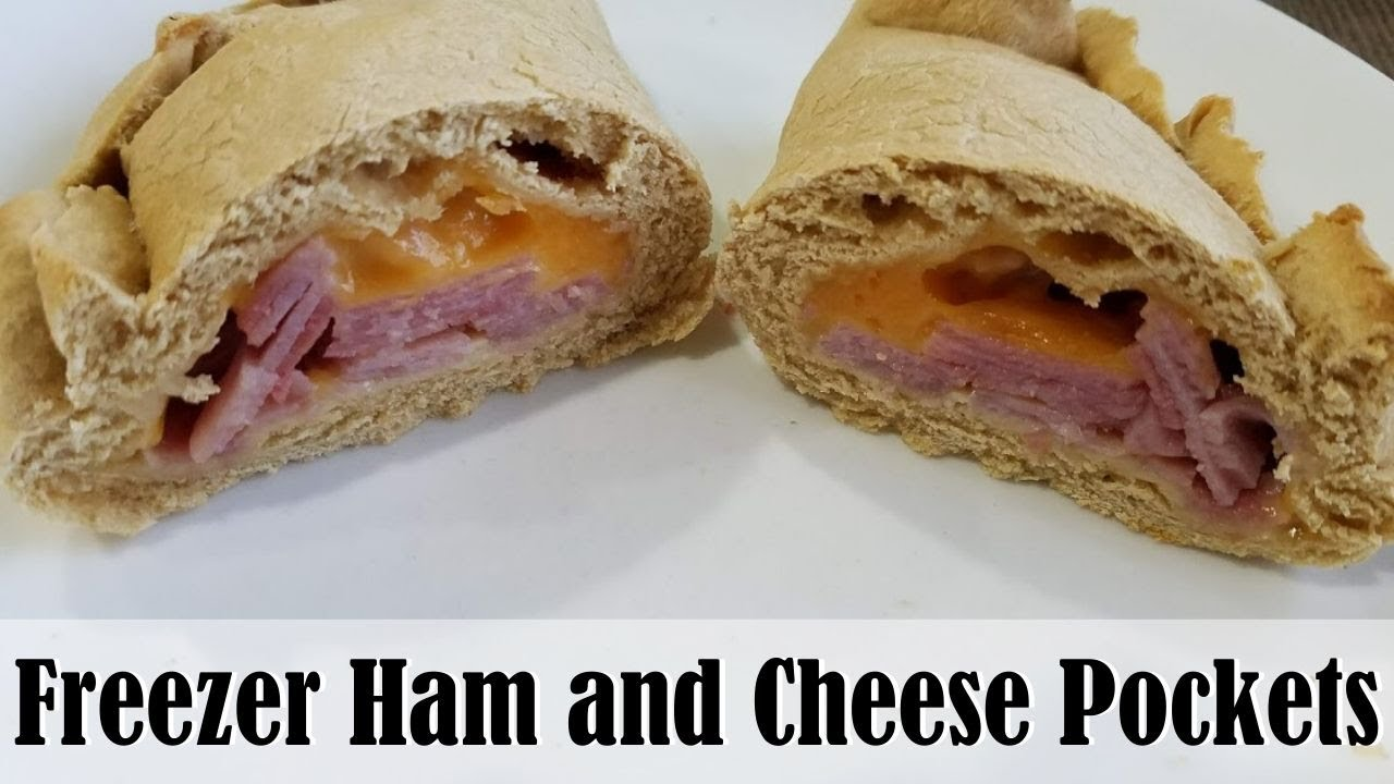 FREEZER HAM AND CHEESE POCKETS || 4 WEEKS TO FILL YOUR FREEZER