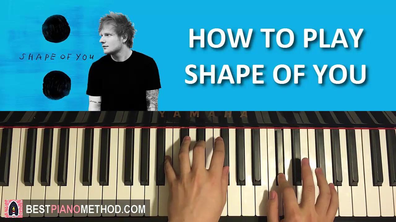How to play ed sheeran shape of you piano tutorial lesson how to play ed sheeran shape of you piano tutorial lesson youtube hexwebz Image collections