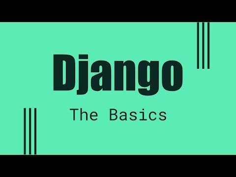 Django 1.11 tutorial part 1