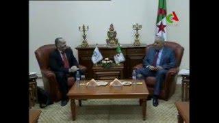 السيد محمد الغازي يستقبل وفد من خبراء صندوق النقد الدولي