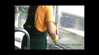 видео Мытье окон, витрин. Волгоград и Волжский